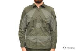 Camicia verde Esse Emme taglia M caccia