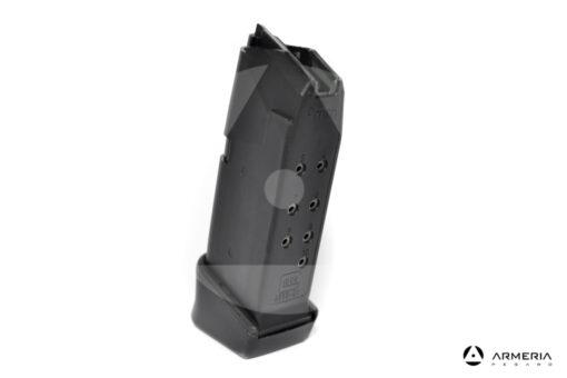 Caricatore per pistola Glock 26 Gen 4 calibro 9x21 - 12 colpi lato