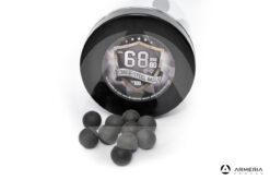 Palle di gomma e metallo Rubber Steel Balls calibro 68