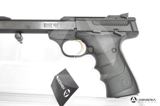 Pistola semiautomatica Browning modello Buckmark calibro 22LR Canna 5.5 macro