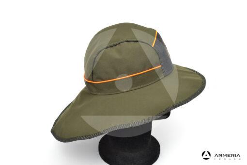 Cappello berretto Trabaldo Michigan caccia antipioggia taglia XL lato