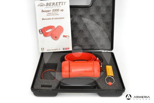 Collare cane Beeper Beretti 2000 XP Base orange