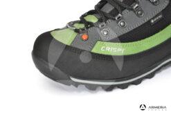 Scarponi Crispi Summit GTX Grey Green Forest Light taglia 44 punta
