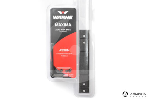 Slitta weaver Warne A996M per fucile Browning e Benelli