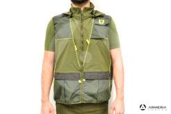 Gilet da caccia RS Hunting LV950 verde taglia L