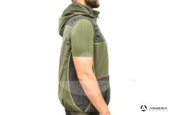 Gilet da caccia RS Hunting LV950 verde taglia L lato