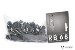 Palle di gomma Umarex Rubberball RB68 calibro 68 2.69gr per Walther T4E