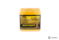 Palle ogive Berger Flat Base Target calibro 22 - 52 grani - 100 pezzi #22408