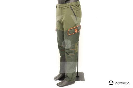 Pantalone da caccia RS Hunting T-104F taglia 54 lato