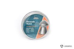Scatola pallini H&N Sport Baracuda Match calibro 4.5 mm 177 - 10.65 grani 400 pezzi