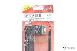 Attacco SportsMatch per carabina 30mm alto - base 11mm pack