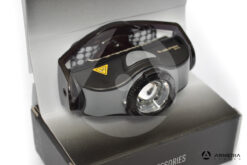 Faro da testa Torcia frontale Led Lenser MH5 ricaricabile lato