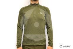 Maglia termica lupetto Konustex Winter ProGame-45 a zip taglia XL