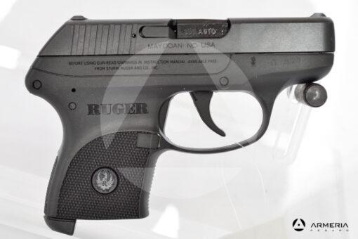 Pistola semiautomatica Ruger modello LCP calibro 380 Auto canna 2.7 lato