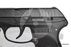 Pistola semiautomatica Ruger modello LCP calibro 380 Auto canna 2.7 macro