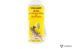 Scovolo in acciaio inossidabile Pro Shot calibro 38 - 357 - 9mm