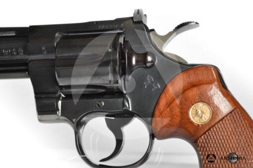 Revolver Colt modello Pyton canna 4 calibro 357 Magnum macro