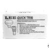Tornietto manuale universale Lee liquid trim