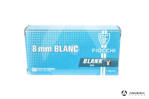 Cartucce a salve Fiocchi calibro 8mm Blanc Blank - 50 pezzi