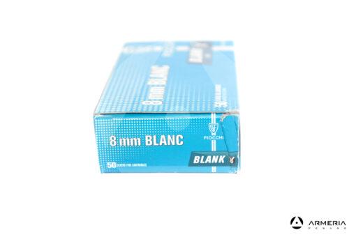 Cartucce a salve Fiocchi calibro 8mm Blanc Blank - 50 pezzi lato