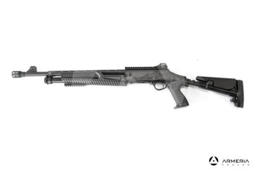 Fucile semiautomatico a pompa Hatsan modello Escort MP-TS calibro 12 lato