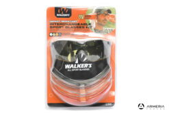 Kit 4 occhiali tattici da tiro balistici protettivi Walker's Elite