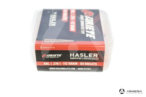 Palle ogive Hasler Ariete Solid Monolitic Type calibro 270 – 112 grani 50pz