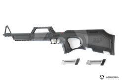 Carabina semiautomatica Walther modello G22 calibro 22 LR lato