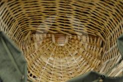 Cesto zaino per funghi castagne Ra Sport verde interno