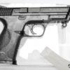 Pistola semiautomatica CO2 Norica modello N.A.C. 1703 calibro 4.5 lato