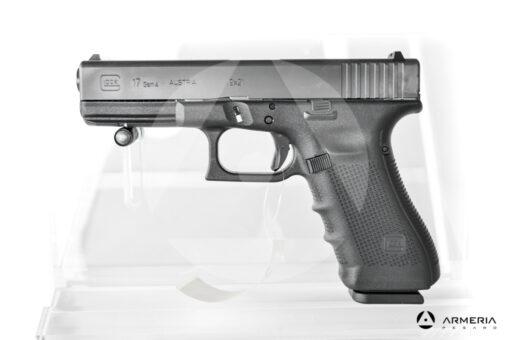 """Pistola semiautomatica Glock modello 17 Gen 4 calibro 9x21 canna 5"""""""