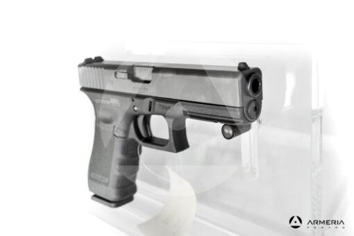"Pistola semiautomatica Glock modello 17 Gen 4 calibro 9x21 canna 5"" mirino"