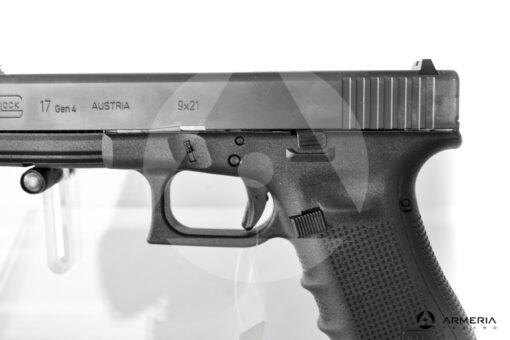 "Pistola semiautomatica Glock modello 17 Gen 4 calibro 9x21 canna 5"" macro"