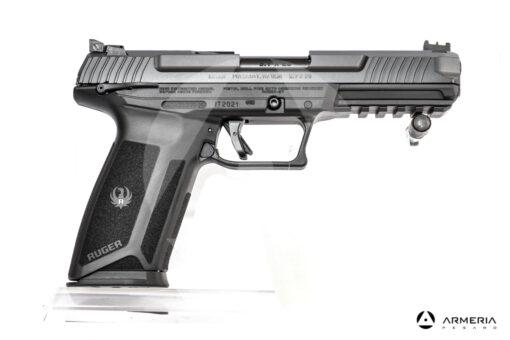 """Pistola semiautomatica Ruger modello 57 calibro 5.7x28 canna 5"""" lato"""