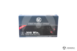 RWS Target Elite calibro 308 Win 154 grani - 20 cartucce