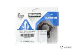 Supporti ad anello UTG 25mm profilo medio in alluminio
