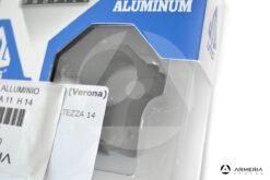 Supporti ad anello UTG 25mm profilo medio in alluminio macro
