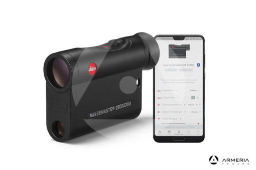 40506 Telemetro Leica Rangemaster CRF 2800.COM smartphone