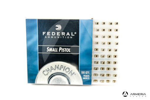 Inneschi Federal 100I Small Pistol Primers - 100 pz