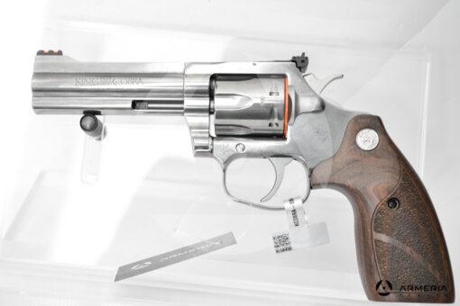 """Revolver Colt modello King Cobra canna 4"""" calibro 357 Magnum lato"""
