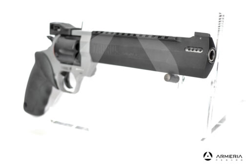 Revolver Taurus modello Racing Hunter canna 8.37 calibro 44 Remington Magnum bicolore mirino