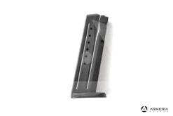 Caricatore per pistola Smith & Wesson M&P 9mm calibro 9x21 - 15 colpi lato