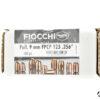 Palle ogive ramate Fiocchi calibro 9mm FPCP 123 grani 500 pezzi