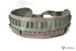 Cartuccera verde Riserva caccia in cordura 20 celle multi calibro