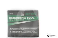 Fresetta a mano RCBS Deburring Tool per calibri da 17 a 60 #09348 pack