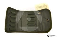 Porta cartucce munizioni 10 colpi logo Riserva caccia interno