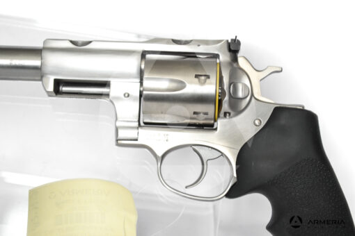 Revolver Ruger modello Super Redhawk canna 7.5 calibro 44 Magnum macro