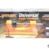 Tornio manuale Lyman Universal Case Trimmer + 9 pilotini #7862000
