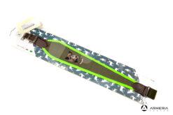 Tracolla Riserva in cordura per carabina verde fluo