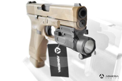 Pistola semiautomatica Glock modello 19X FDE calibro 9x21 canna 4 + torcia mirino